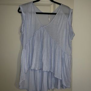 Free People Purple Top | Size Small